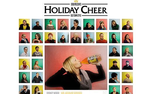 Brady Bunch Christmas Card.2009 Agency Client Xmas Cards On Bannerblog News